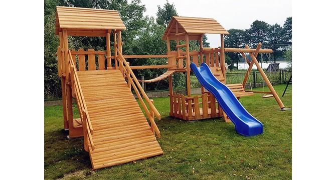 Inturkėje - pirmoji vaikų žaidimų aikštelė