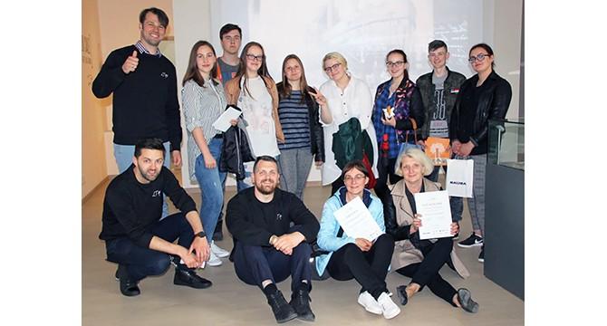 Inturkės ir Suginčių mokyklų mokinių komandos istorijos patirčių konkurso finalininkės