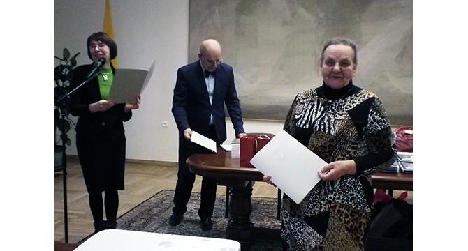 Monikos Bičiūnienės premijai laimėti  - molėtiškės darbai