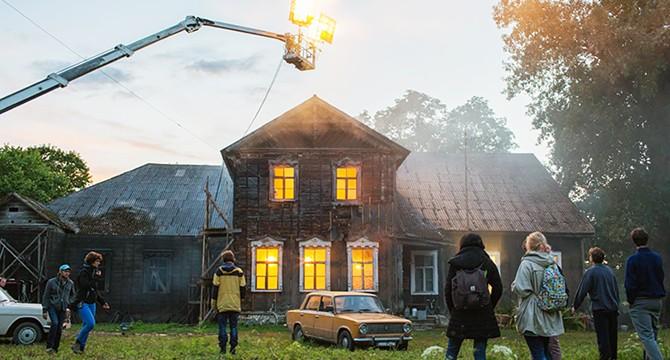 Libertavos dvare buvo filmuojamas naujas lietuviškas vaidybinis filmas
